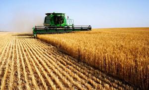 Tractors, harvesters, planters, etc.