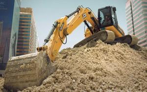 Draglines, bulldozers, excavators, drills, loaders, graders, etc.